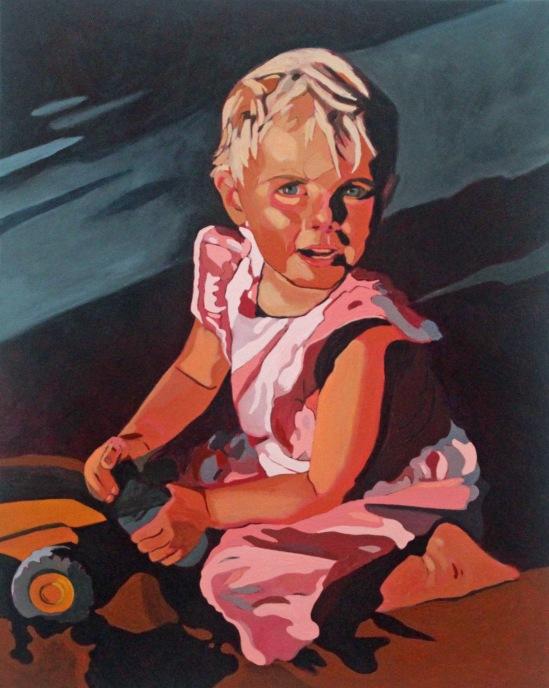 Charlie, 2020, 16 x 20, Acrylic on Canvas